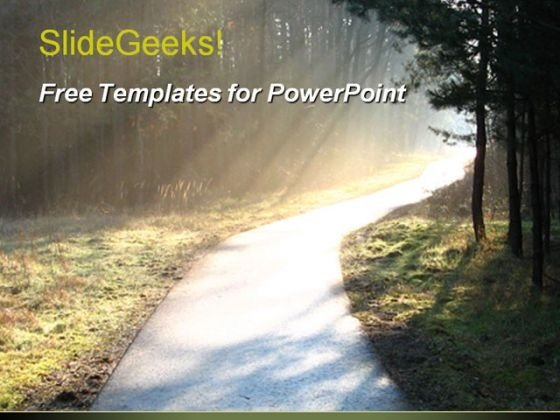 Sunrays PowerPoint Template