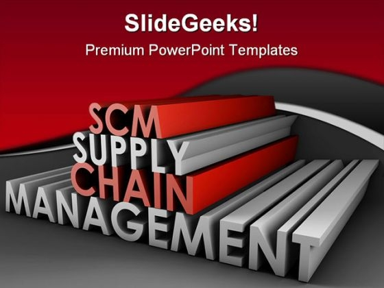 Supply Chain Management Business PowerPoint Themes And PowerPoint Slides 0611