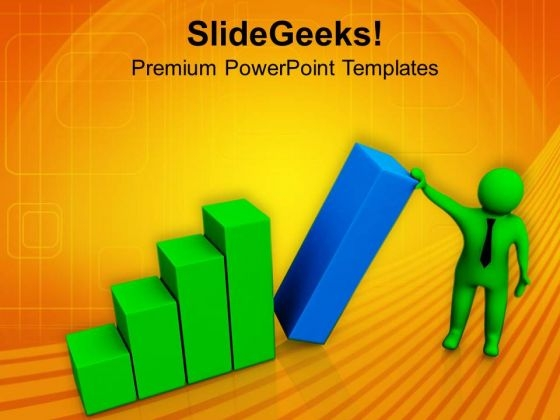 Support The Business Chart PowerPoint Templates Ppt Backgrounds For Slides 0813