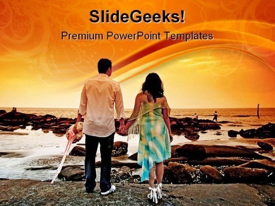 Sweet Couples Holidays PowerPoint Backgrounds And Templates 1210