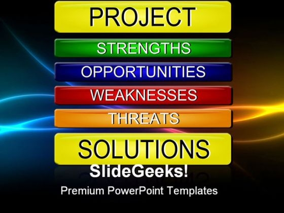 Swot Analysis Business PowerPoint Themes And PowerPoint Slides 0811