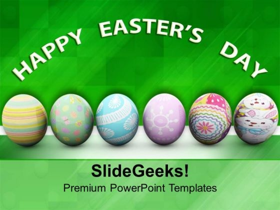 Symbol Of Easter Festival PowerPoint Templates Ppt Backgrounds For Slides 0313
