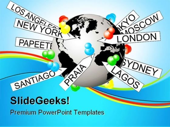 Tagging On World Earth PowerPoint Themes And PowerPoint Slides 0411
