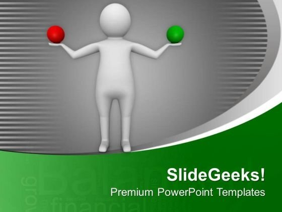 Take A Decision Between Right And Wrong PowerPoint Templates Ppt Backgrounds For Slides 0713