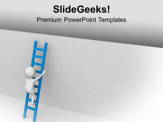 Take A Right Stairs For Business Growth PowerPoint Templates Ppt Backgrounds For Slides 0713