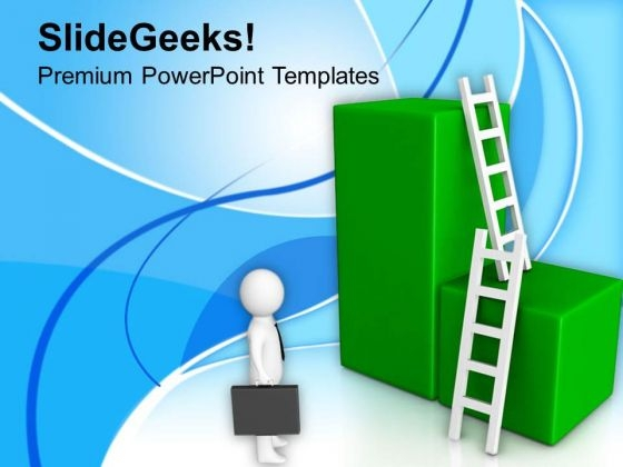Take A Shortcut Ladder For Success PowerPoint Templates Ppt Backgrounds For Slides 0713