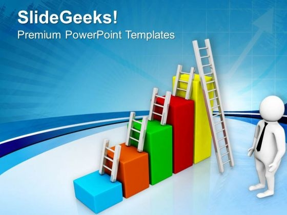 Take A Small Steps For Success PowerPoint Templates Ppt Backgrounds For Slides 0713