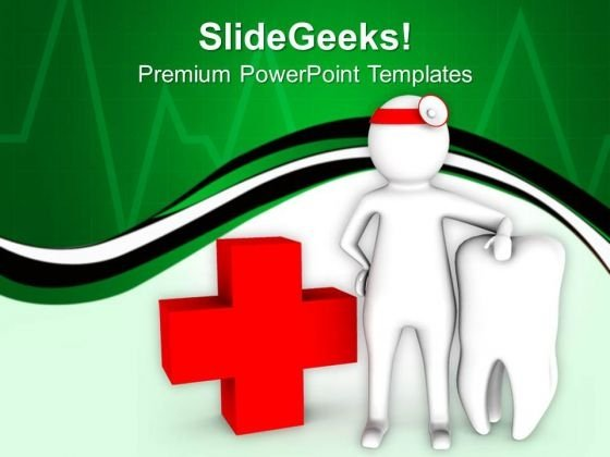 Take Care Of Dental Health PowerPoint Templates Ppt Backgrounds For Slides 0713