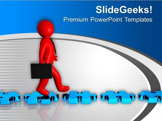Take The Easiest Path PowerPoint Templates Ppt Backgrounds For Slides 0713