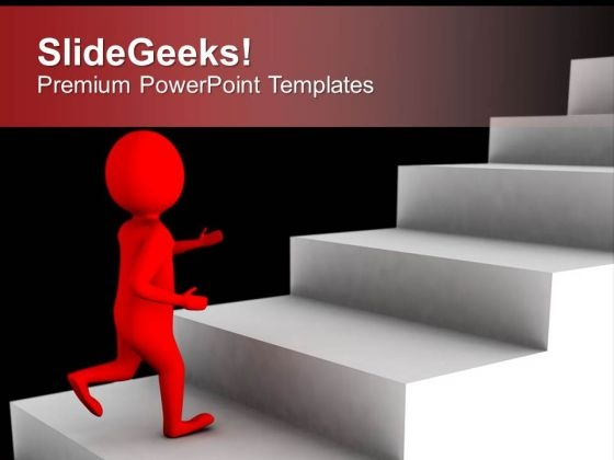 Take The Right Step In Business PowerPoint Templates Ppt Backgrounds For Slides 0513