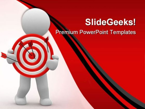Target01 Business PowerPoint Templates And PowerPoint Backgrounds 0411