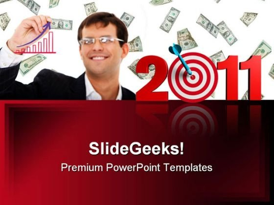 Target 2011 Business PowerPoint Backgrounds And Templates 1210