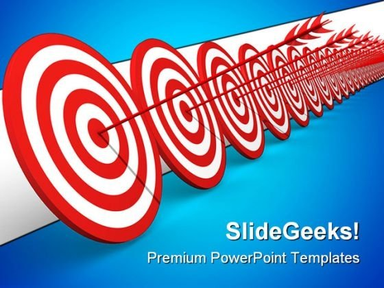 Target Business PowerPoint Templates And PowerPoint Backgrounds 0911