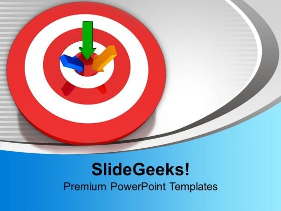 Target Business PowerPoint Templates Ppt Backgrounds For Slides 1212
