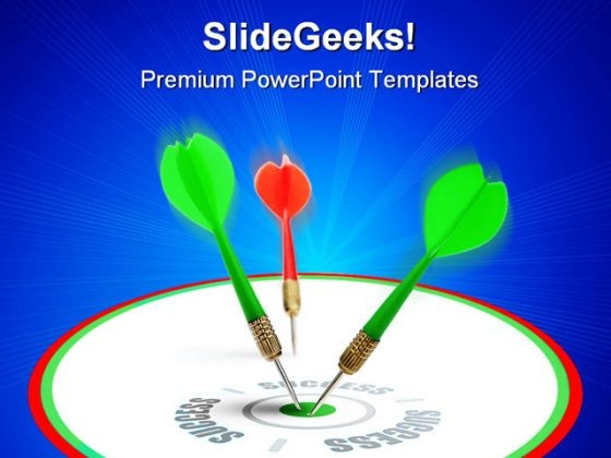 Target Business PowerPoint Themes And PowerPoint Slides 0511