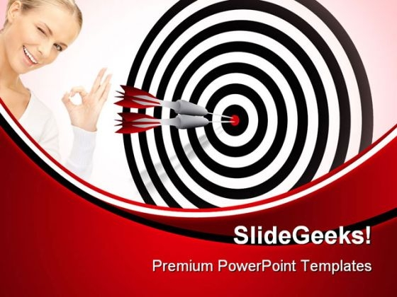 Target Business PowerPoint Themes And PowerPoint Slides 0711