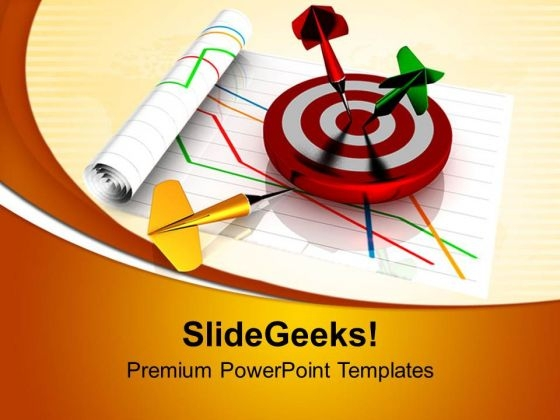 Target Dart Goal Success PowerPoint Templates Ppt Backgrounds For Slides 0713