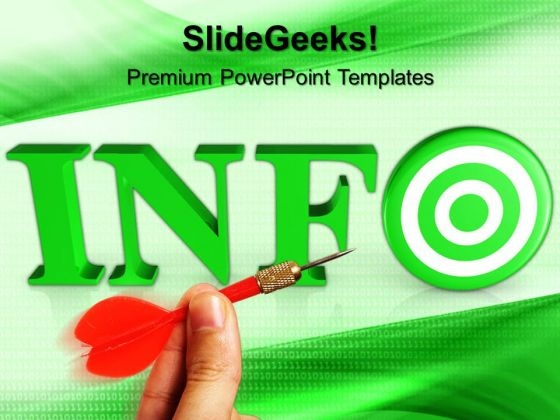 Target Info Business PowerPoint Templates And PowerPoint Themes 0712