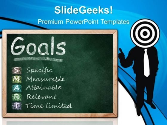 Target On Smart Goals Business PowerPoint Templates And PowerPoint Themes 0512