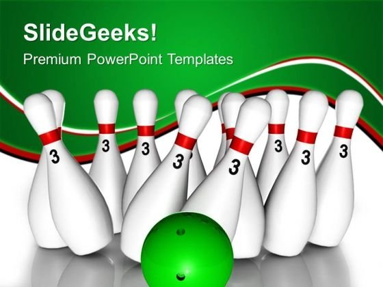 Target Pins Game PowerPoint Templates And PowerPoint Themes 0512