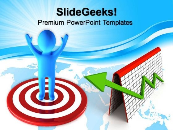Target Point Business PowerPoint Templates And PowerPoint Themes 0812