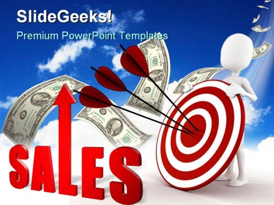 Target Sales Finance PowerPoint Templates And PowerPoint Backgrounds 0311