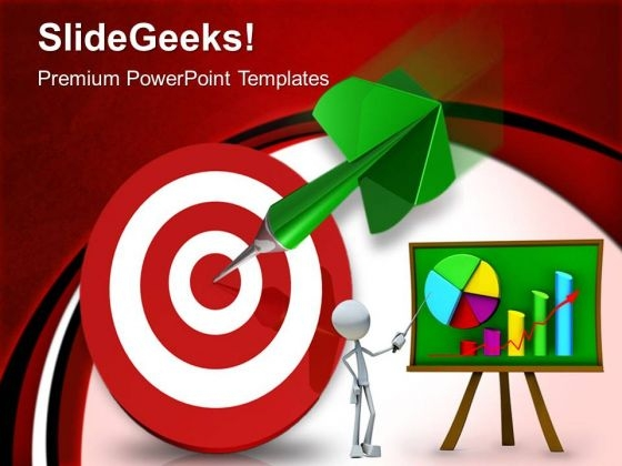 Target Success Business PowerPoint Templates And PowerPoint Themes 0612