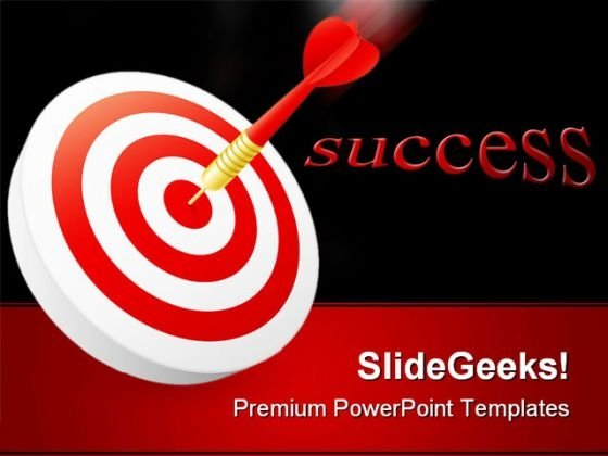 Target Success PowerPoint Themes And PowerPoint Slides 0511
