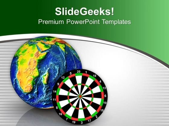 Target The Global Market PowerPoint Templates Ppt Backgrounds For Slides 0313