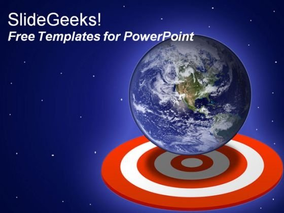 Global Earth PowerPoint Template