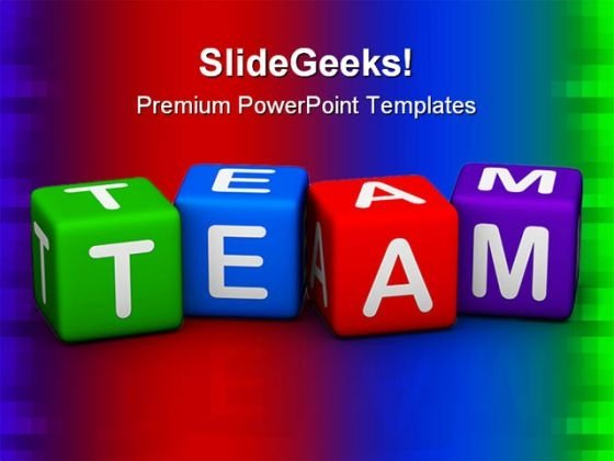 Team01 Business PowerPoint Templates And PowerPoint Backgrounds 0811