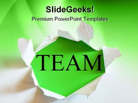 Team01 Business PowerPoint Themes And PowerPoint Slides 0511