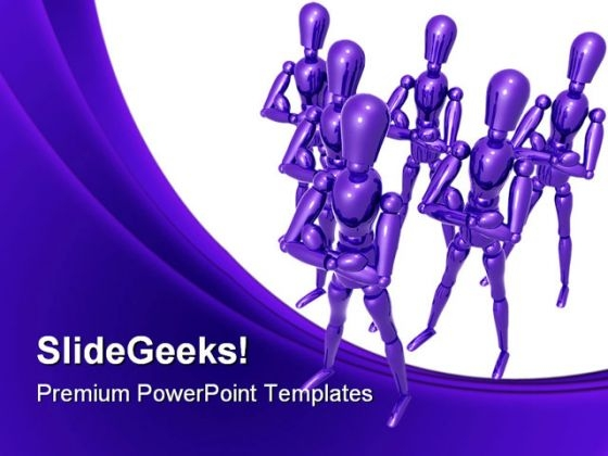 Team01 Leadership PowerPoint Templates And PowerPoint Backgrounds 0611