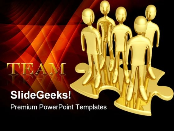 Team03 Business PowerPoint Themes And PowerPoint Slides 0511