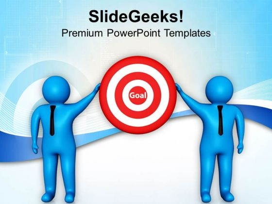 Team Achieved The Goal Business Strategy PowerPoint Templates Ppt Backgrounds For Slides 0813