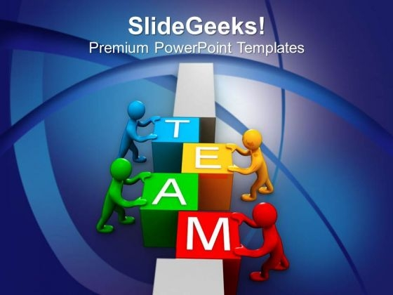 Team Efforts Can Give More Business PowerPoint Templates Ppt Backgrounds For Slides 0513