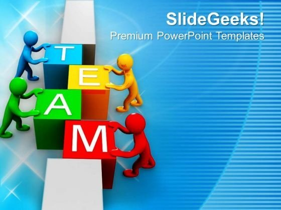 Team Is Important For Business Growth PowerPoint Templates Ppt Backgrounds For Slides 0513