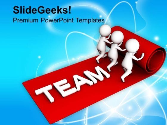 Team Is The Main Part Of Success PowerPoint Templates Ppt Backgrounds For Slides 0813