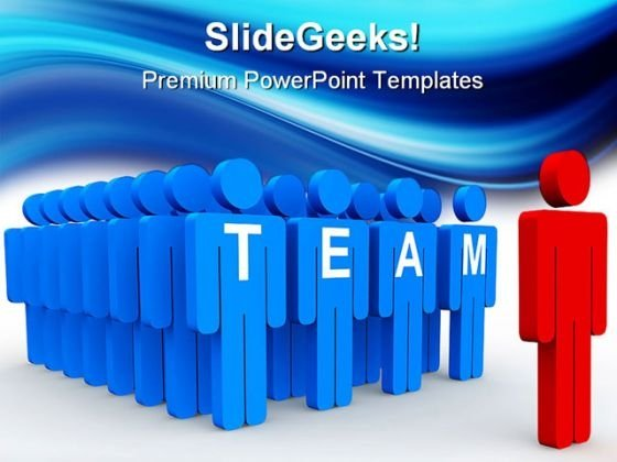 Team Leadership PowerPoint Templates And PowerPoint Backgrounds 0511