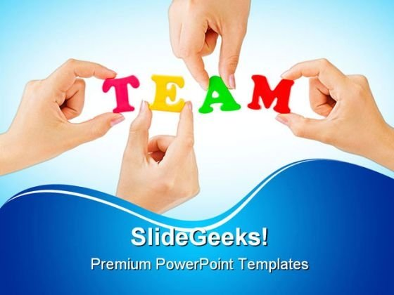 Team People PowerPoint Backgrounds And Templates 1210