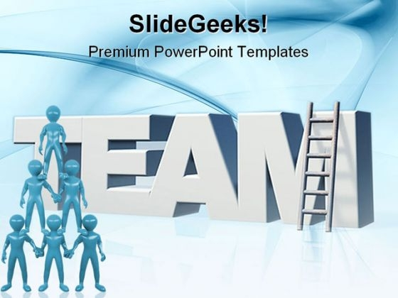 Team People PowerPoint Templates And PowerPoint Backgrounds 0411