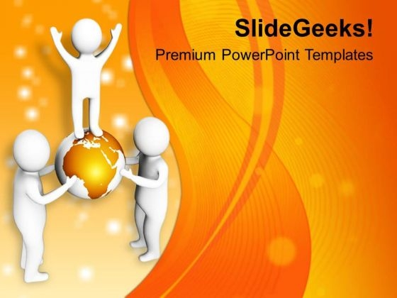 Team Solved All Global Issues PowerPoint Templates Ppt Backgrounds For Slides 0713