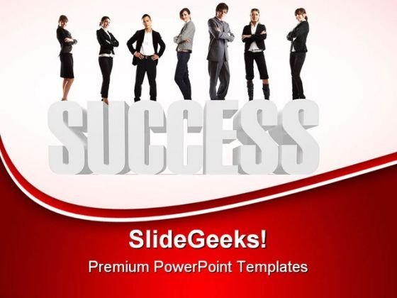 Team Success PowerPoint Themes And PowerPoint Slides 0611