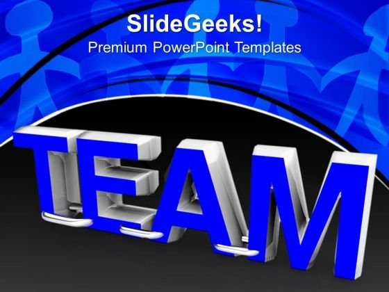 Team Teamwork Business PowerPoint Templates And PowerPoint Themes 1112