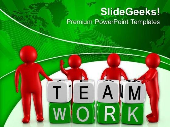 Team Understanding For Business Development PowerPoint Templates Ppt Backgrounds For Slides 0713