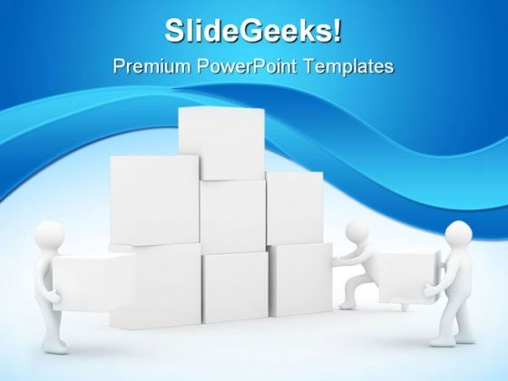 Teamwork01 Leadership PowerPoint Backgrounds And Templates 1210