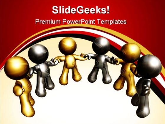 Teamwork02 Business PowerPoint Themes And PowerPoint Slides 0411