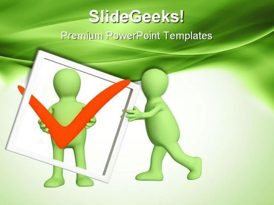 Teamwork03 Business PowerPoint Themes And PowerPoint Slides 0611