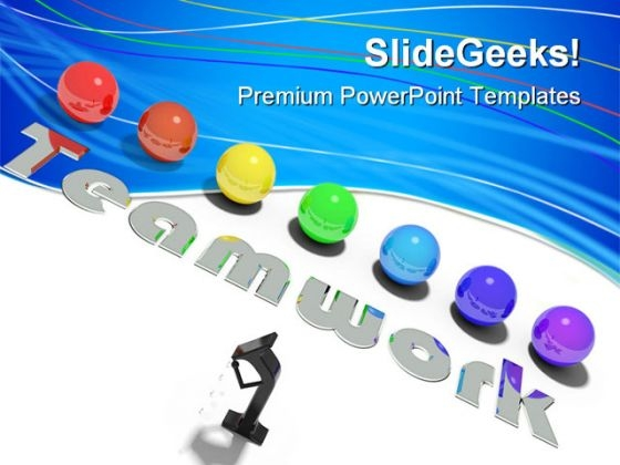 Teamwork03 Leadership PowerPoint Templates And PowerPoint Backgrounds 0811