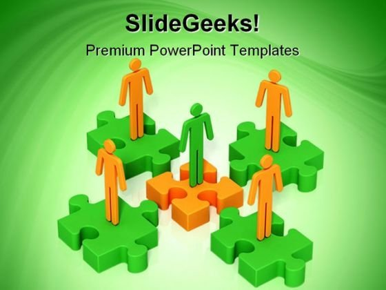 Teamwork06 Business PowerPoint Templates And PowerPoint Backgrounds 0711